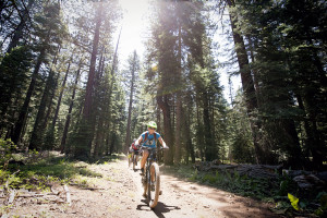 Mountain Biking at Wanderlust Yoga Festival