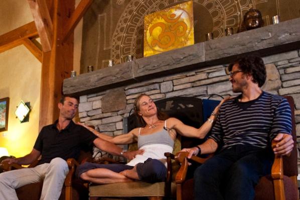 Wanderlust Festival Founders Jeff Krasno, Sean Hoess and Schuyler Grant