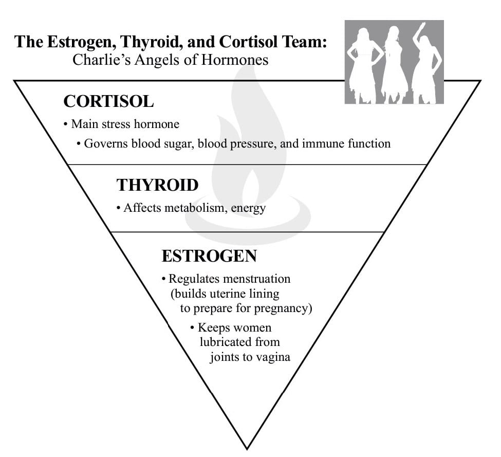 Hormone Cure: Thyroid, Estrogen, Cortisol