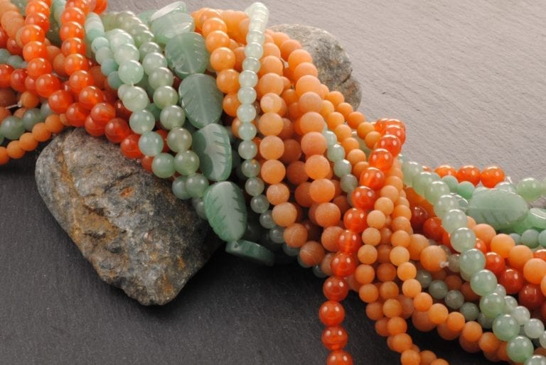 Photo courtesy of Silver & Sage. Click through to see the aventurine jewelry collection!