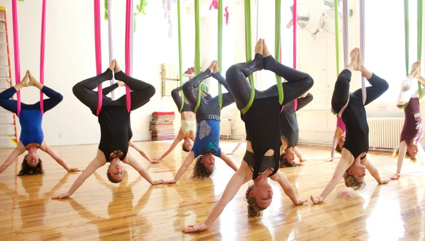 Wanderlust Learning to Fly with Aerial Yoga