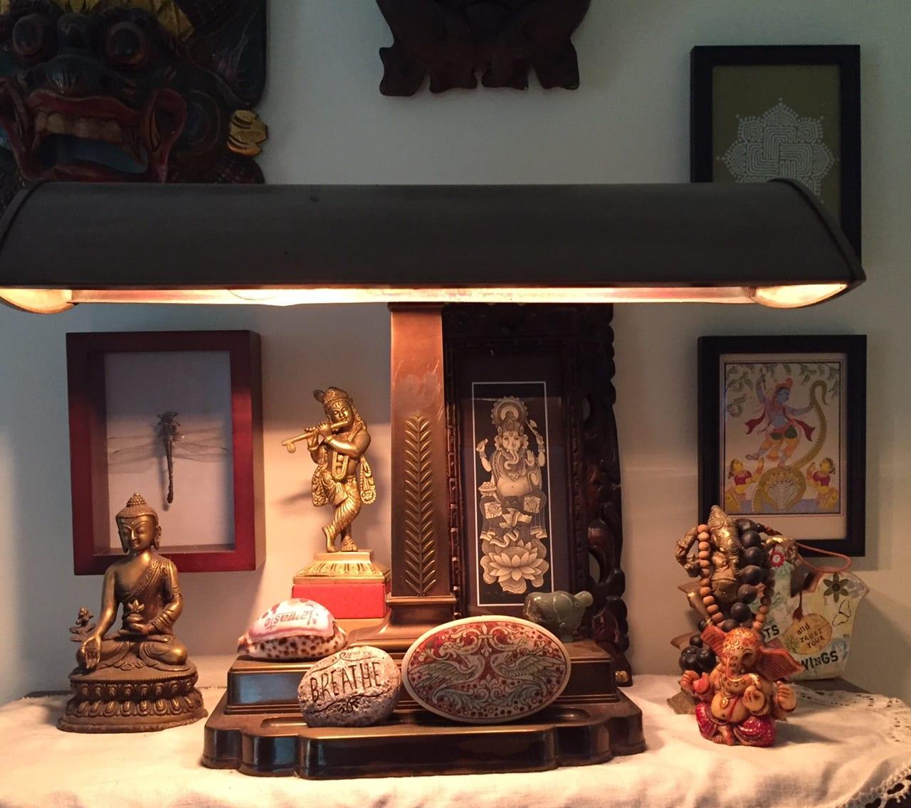 Basil Jones's altar