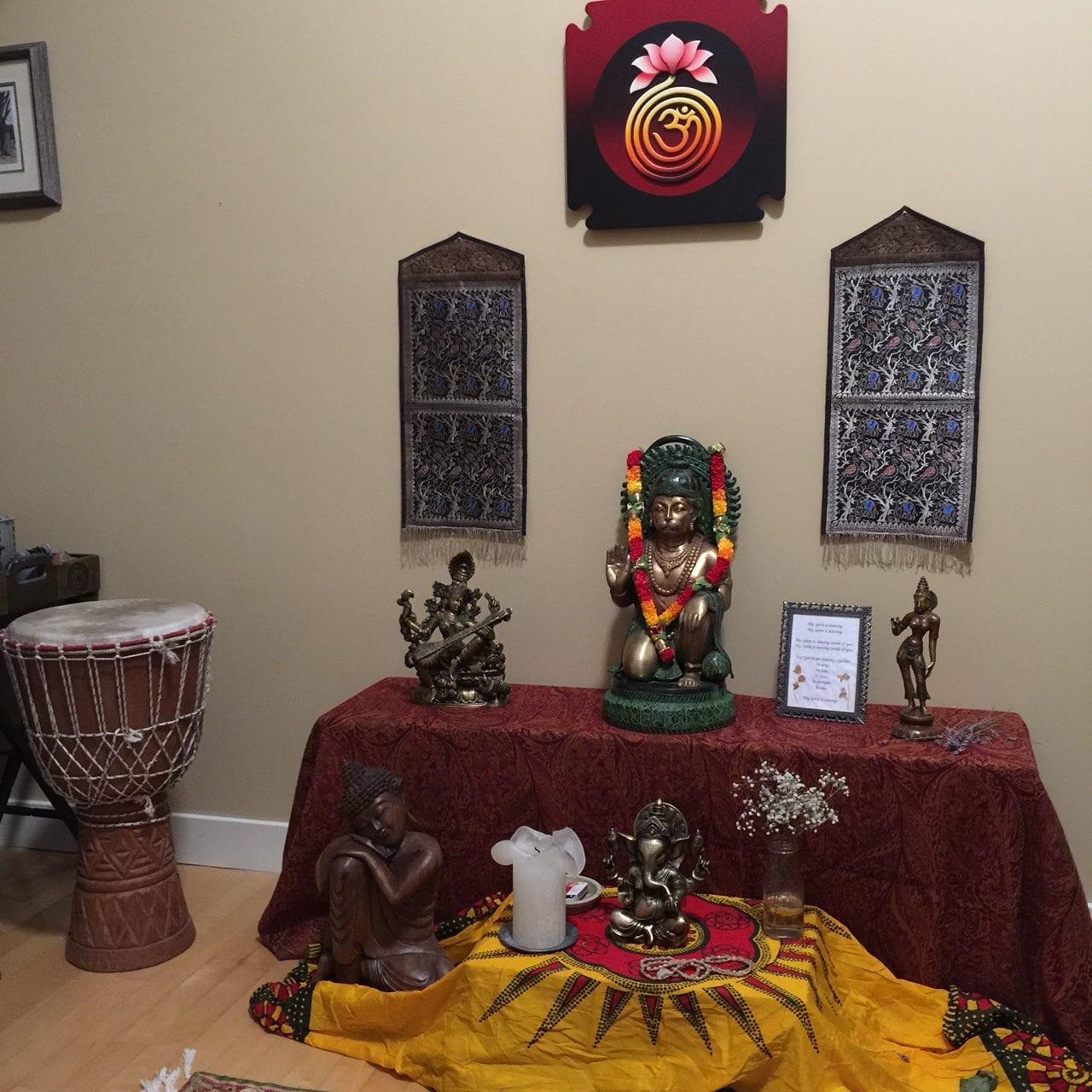 Bob Speck's altar