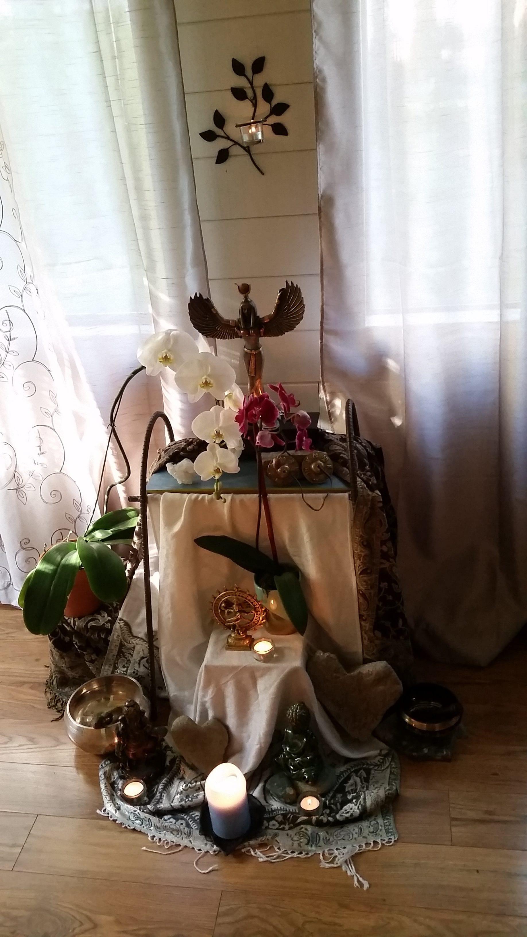 Meg McCraken's altar
