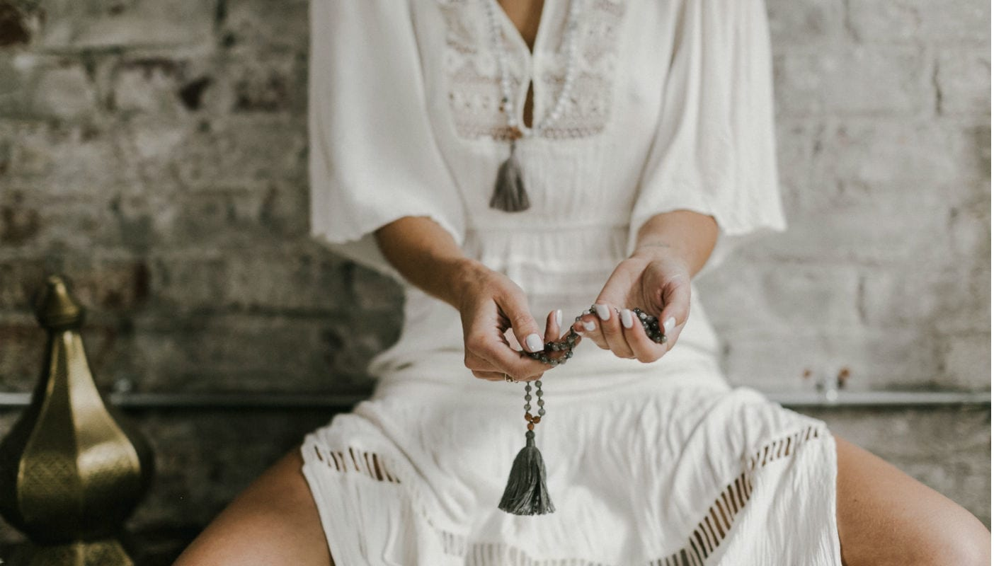 Wanderlust How to Choose, Use, and Cleanse Your Mala Beads