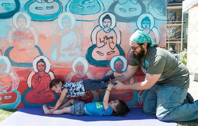 10000 buddhas with kids