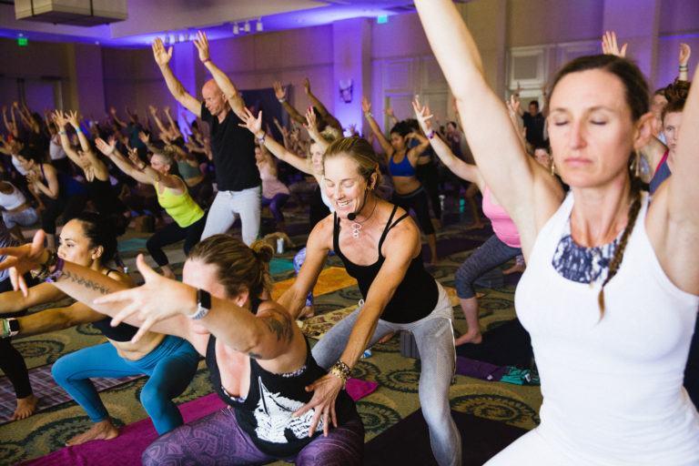 Schuyler Grant yoga class