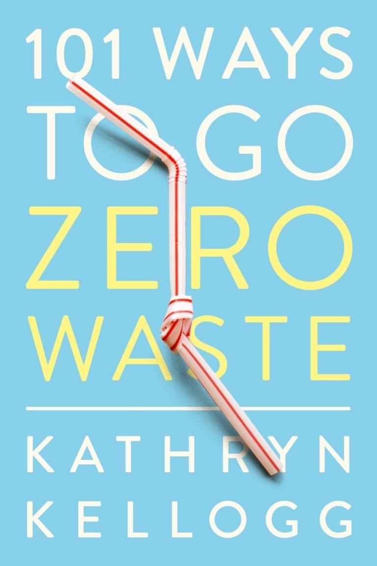 cover of 101 ways to go zero waste