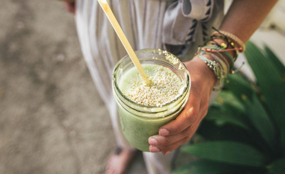 hemp green smoothie