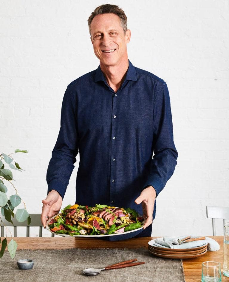 dr mark hyman serving salad