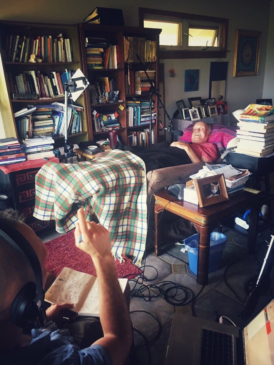 Recording with Ram Dass