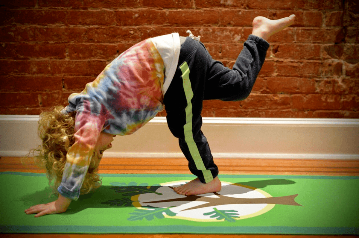 kids yoga mat