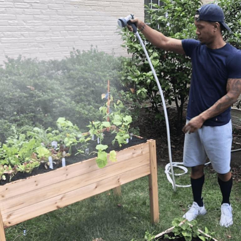 Quentin Gardening