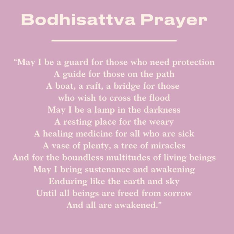 boddhisatva vow