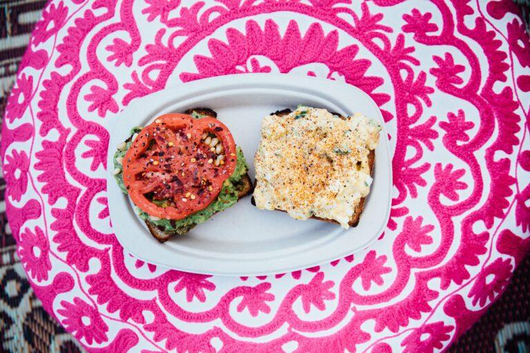 lunch avocado toast